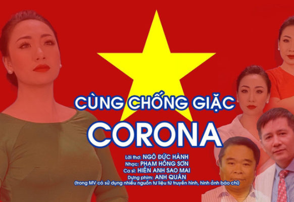 Tác phẩm mới:  CÙNG CHỐNG GIẶC CORONA – Nhạc Phạm Hồng Sơn, Thơ Ngô Đức Hành.